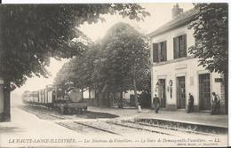CPA - 70 - Demangevelle - La Gare - Arrivée D'un Train - France