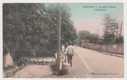 Eurville, La Petite Marne, L'abreuvoir - France