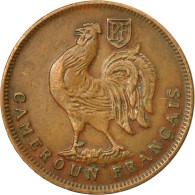 Monnaie, Cameroun, Franc, 1943, Pretoria, SUP, Bronze, KM:5, Lecompte:16 - Cameroun