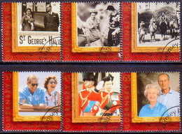 GUERNSEY 1997 SG 754-59 Compl.set Used Goolden Wedding (25p Is Slightly Scratched) - Guernsey