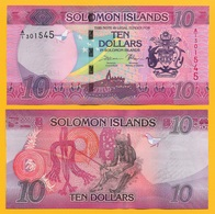 Solomon Islands 10 Dollars P-33 2017 UNC - Solomon Islands