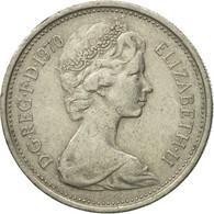 Monnaie, Grande-Bretagne, Elizabeth II, 5 New Pence, 1970, TB+, Copper-nickel - 1971-… : Monnaies Décimales