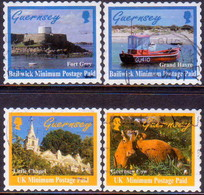 GUERNSEY 1998 SG 770-73 Compl.set Used Scenes (2nd Series) - Guernsey