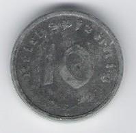 A60061 Germany, 10 Pfennig - 1947 A, Zinc. Allied Occupation Issue; UNC. - Albania