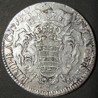 A60083 Ragusa (Dubrovnik): Silver Tallero (Ducat Et Sem), 1753; KM# 18, In F. - Albania