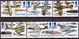 GUERNSEY 1998 SG 774-79 Compl.set Used Royal Air Force - Guernsey