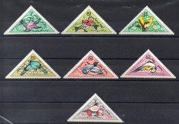 MONGOLIE  Timbres Neufs ** De 1961   ( Ref 5571 ) Animaux -oiseaux - Mongolie