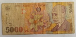 5000 LEI 1998 - Romania