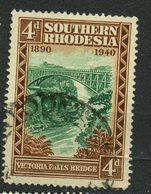Southern Rhodesia 1940 4p Victoria Falls Issue #61 - Southern Rhodesia (...-1964)