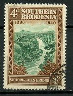 Southern Rhodesia 1940 4p Victoria Falls Issue #61 - Rhodésie Du Sud (...-1964)