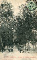 MONTPELLIER - Avenue De L'Hôpital Suburbain Piétons Arbres Et Tramway - Montpellier