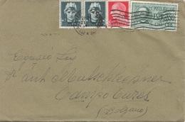 ITALIEN 192? - 4 Fach MIF Auf Express-Brief Gel.v. Milano > Bolzano - 1900-44 Victor Emmanuel III.