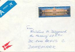 Belgium Cover Sent To Denmark 15-10-1997 Single Franked - Belgium
