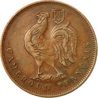 Monnaie, Cameroun, Franc, 1943, Pretoria, TTB+, Bronze, KM:5, Lecompte:16 - Cameroon