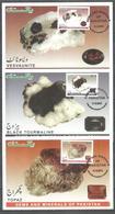 POSTCARD , MAXIMUM CARD GAMES & MINERALS 2014 8 VALUE DIFFERENT CARD - Minerals