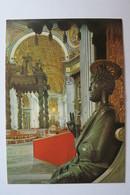 """(10/5/4) AK """"Vaticano"""" Innenaufnahme Der Peterskirche - Vatikanstadt"""