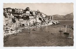 13 Marseille Sur La Corniche Bains Du Prophete (2 Scans) - Old Port, Saint Victor, Le Panier