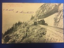 YVERDON Ch. De Fer Yverdon - S.te Croix 1902 - JU Jura