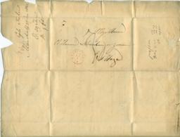 Nederland Voorfilatelie Brief 1842 Van Maastricht Naar Scheurleer En Zonen In Den Haag - Niederlande