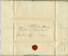 Nederland Voorfilatelie Brief 1842 Van Den Haag Naar Scheurleer En Zonen In Den Haag - Niederlande