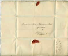 Nederland Voorfilatelie Brief 1848 Van Den Haag Naar Scheurleer En Zonen In Den Haag - Niederlande
