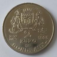 2 Euros De Ville 1998 - Bordeaux - Le Pont De Pierre - - Euros Of The Cities