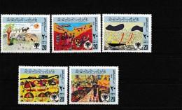 A08119)Libyen 717 - 721 A** - Libya
