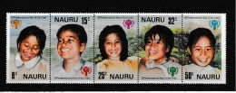 A08142)Nauru 198 - 202 ZDR** - Nauru