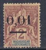 Madagascar N° 51 X  Type II , Neuf Sans Gomme Sinon   TB - Madagascar (1889-1960)
