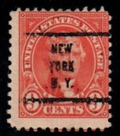 """USA Precancel Vorausentwertung Preo, Locals """"NEW-YORK"""" (NY). - Preobliterati"""