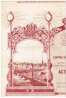Action Ancienne - Eclairage Electrique St-Pétersbourg - Titre De 1903 N°3492 - Déco - Russie