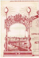 Action Ancienne - Eclairage Electrique St-Pétersbourg - Titre De 1903 N°3492 - Déco - Rusia