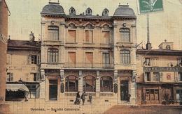 Oyonnax Banque Société Générale Toilée Colorisée - Oyonnax