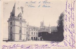 CPA - 48. Château De BOURLEMONT Façade Ouest - France