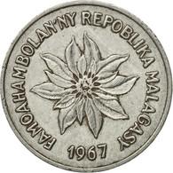 Monnaie, Madagascar, 5 Francs, Ariary, 1967, Paris, TTB, Stainless Steel, KM:10 - Madagascar