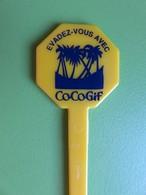 187 - Touilleur - Agitateur - Mélangeur à Boisson - Evadez-vous Avec Cocogif - Swizzle Sticks