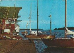 """Finland Mariehamn- Åland. """"Åss"""" Paviljong. Sent To Norway. # 07961 - Finland"""