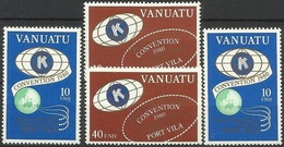 VA 1980-591-4 INTERNATIONAL KONGRES, VANUATU,1 X 4v, MNH - Vanuatu (1980-...)
