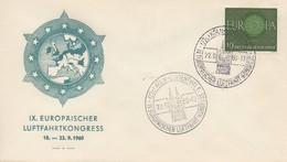A23-  Köln: Europäischer Luftfahrkongress  1960  TTB - Idées Européennes