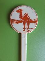 190 - Touilleur - Agitateur - Mélangeur à Boisson - Tabac - Camel - Marron Clair - Swizzle Sticks