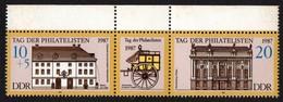 DDR/East Germany. 1987 Stamp Day. SG E2824-2825. MNH - [6] Repubblica Democratica