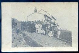 Cpa Carte Photo Islande Iceland Maison Famille Oeuvres De Mer à Faskrudsfjord Aumonier Marins Du Lavoisier Aout18-2 - Islande
