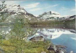 Sweden - Försommer I Riksgränsen.  Sent To Denmark 1961. # 07965 - Sweden