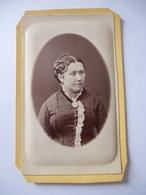 FEMME En 1881 - Photographie H. FONTES - PARIS - Nom Et Prénom à Déchiffrer - Anonymous Persons