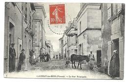 COUSSAY LES BOIS - La Rue Principale - France