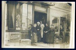 Cpa Carte Photo Du 92 Asnières Sur Seine Ets Godet Fleuriste N°3 Rue Du Progrès  Aout18-2 - Asnieres Sur Seine