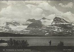 Sweden - Västerbotten - Vid Gräsvattnet Mot Okstinderne. Sent To Denmark 1952.    # 07970 - Sweden