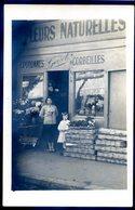 Cpa Carte Photo Du 92 Asnières Sur Seine Ets Godet Fleuriste En 1934  N°3 Rue Du Progrès  Aout18-2 - Asnieres Sur Seine