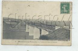 Ménétréol-sous-Sancerre (18) :  La Gare De Sancerre Vue Du Viaduc  En 1911 PF. - Autres Communes