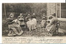 PK34/   AALST   KANTWERKSTERS   1902    ONVERDEELDE KEERZIJDE - Belgium